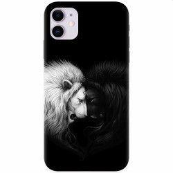 Husa silicon pentru Apple iPhone 11 Lions