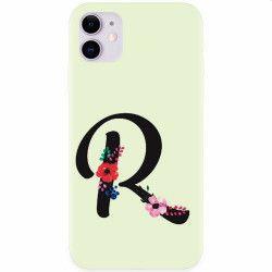 Husa silicon pentru Apple iPhone 11 Litera R