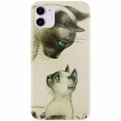 Husa silicon pentru Apple iPhone 11 Little Cat