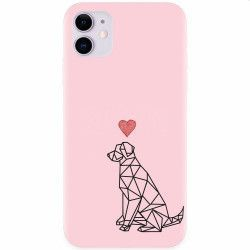 Husa silicon pentru Apple iPhone 11 Love Dog