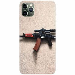 Husa silicon pentru Apple iPhone 11 Pro Max AK Kalashnikov Gun Of Military Huse Telefoane