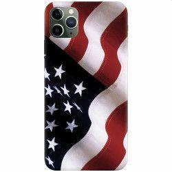 Husa silicon pentru Apple iPhone 11 Pro American Huse Telefoane