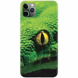 Husa silicon pentru Apple iPhone 11 Pro Max Animal Eye
