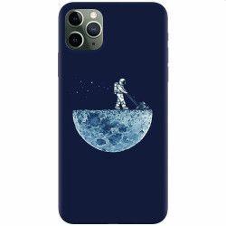 Husa silicon pentru Apple iPhone 11 Pro Max Astronaut 101 Huse Telefoane