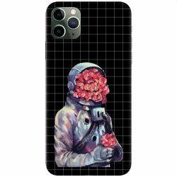 Husa silicon pentru Apple iPhone 11 Pro Max Astronaut Love Huse Telefoane