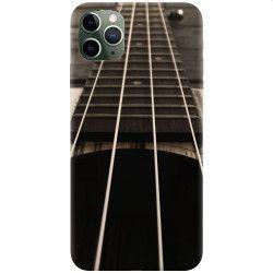 Husa silicon pentru Apple iPhone 11 Pro Max Bass Guitar