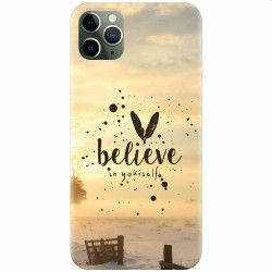 Husa silicon pentru Apple iPhone 11 Pro Max Believe In Yourself Huse Telefoane