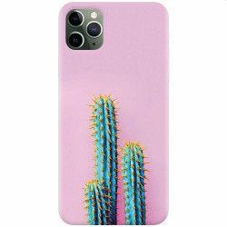 Husa silicon pentru Apple iPhone 11 Pro Max Cactus 102