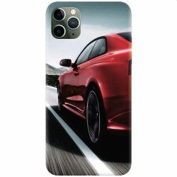 Husa silicon pentru Apple iPhone 11 Pro Max Car On Road Huse Telefoane