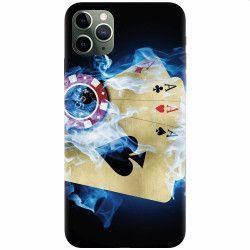 Husa silicon pentru Apple iPhone 11 Pro Max Casino Huse Telefoane