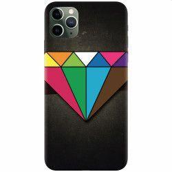 Husa silicon pentru Apple iPhone 11 Pro Max Colorful Diamond Huse Telefoane