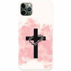 Husa silicon pentru Apple iPhone 11 Pro Cross Huse Telefoane