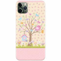 pret preturi Husa silicon pentru Apple iPhone 11 Pro Cute Birdhouse
