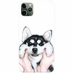 Husa silicon pentru Apple iPhone 11 Pro Cute Dog 1 Huse Telefoane