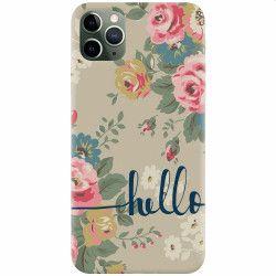 Husa silicon pentru Apple iPhone 11 Pro Max Cute Flower Phone Huse Telefoane