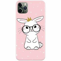 pret preturi Husa silicon pentru Apple iPhone 11 Pro Max Cute Rabbit