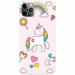 Husa silicon pentru Apple iPhone 11 Pro Max Cute Unicorn Huse Telefoane
