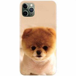 Husa silicon pentru Apple iPhone 11 Pro Cutest Puppy Dog Huse Telefoane