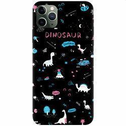 pret preturi Husa silicon pentru Apple iPhone 11 Pro Dinosaur