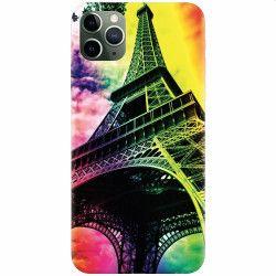 Husa silicon pentru Apple iPhone 11 Pro Max Eiffel Tower 002 Huse Telefoane