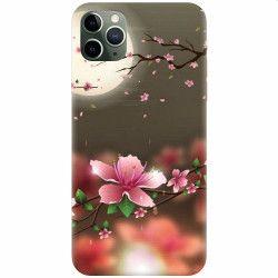 Husa silicon pentru Apple iPhone 11 Pro Max Flowers 101