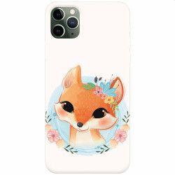 Husa silicon pentru Apple iPhone 11 Pro Foxy Huse Telefoane