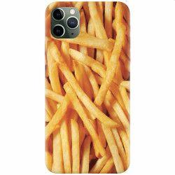 Husa silicon pentru Apple iPhone 11 Pro Fries Huse Telefoane