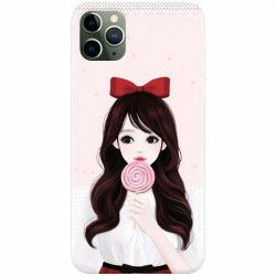 Husa silicon pentru Apple iPhone 11 Pro Max Girly 001 Huse Telefoane