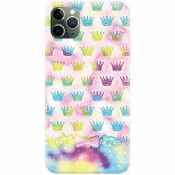 Husa silicon pentru Apple iPhone 11 Pro Girly Plus Huse Telefoane