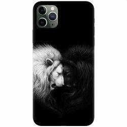 Husa silicon pentru Apple iPhone 11 Pro Max Lions