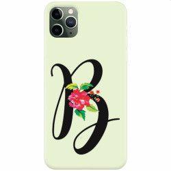 Husa silicon pentru Apple iPhone 11 Pro Litera B Huse Telefoane