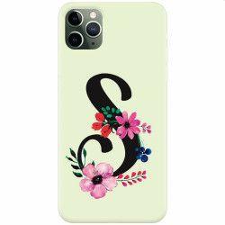 Husa silicon pentru Apple iPhone 11 Pro Litera S Huse Telefoane