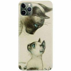 Husa silicon pentru Apple iPhone 11 Pro Little Cat Huse Telefoane