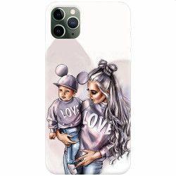 pret preturi Husa silicon pentru Apple iPhone 11 Pro Max Mommy Love