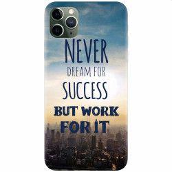 Husa silicon pentru Apple iPhone 11 Pro Never Dream Huse Telefoane