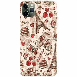 Husa silicon pentru Apple iPhone 11 Pro Paris Love Huse Telefoane