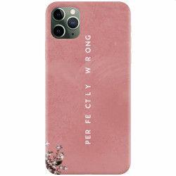 Husa silicon pentru Apple iPhone 11 Pro Perfectly Wrong Huse Telefoane