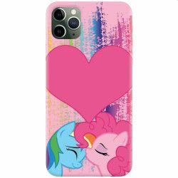 Husa silicon pentru Apple iPhone 11 Pro Pinkie Kiss Huse Telefoane