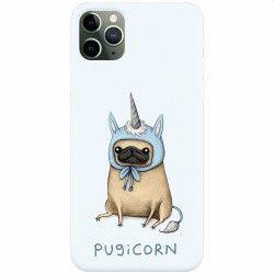 Husa silicon pentru Apple iPhone 11 Pro Max Pugicorn Huse Telefoane