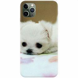 Husa silicon pentru Apple iPhone 11 Pro Max Puppies 001 Huse Telefoane