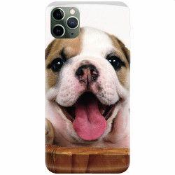 Husa silicon pentru Apple iPhone 11 Pro Puppies 002 Huse Telefoane