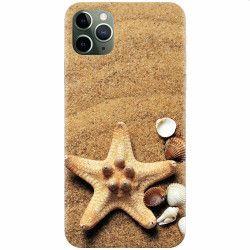 Husa silicon pentru Apple iPhone 11 Pro Max Sea Shells Huse Telefoane