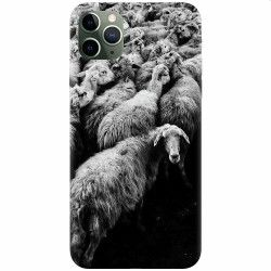 Husa silicon pentru Apple iPhone 11 Pro Max Sheep Huse Telefoane