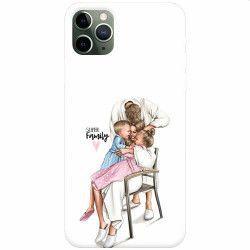 Husa silicon pentru Apple iPhone 11 Pro Super Family Huse Telefoane