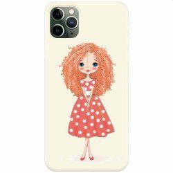 Husa silicon pentru Apple iPhone 11 Pro Max Sweet Little Girl Huse Telefoane