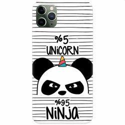 pret preturi Husa silicon pentru Apple iPhone 11 Pro Max Unicorn Ninja