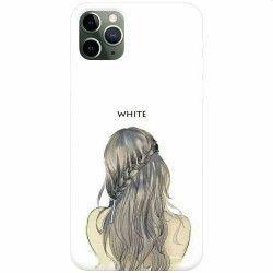 Husa silicon pentru Apple iPhone 11 Pro White Huse Telefoane