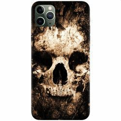 Husa silicon pentru Apple iPhone 11 Pro Max Zombie Skull Huse Telefoane