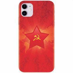 Husa silicon pentru Apple iPhone 11 Soviet Union Huse Telefoane