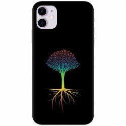 Husa silicon pentru Apple iPhone 11 Tree 001 Huse Telefoane